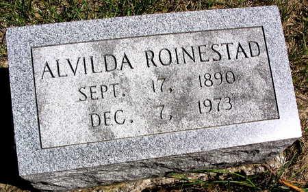 CARR ROINESTAD, ALVILDA - Cedar County, Iowa | ALVILDA CARR ROINESTAD