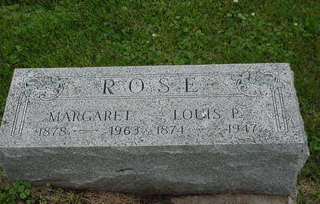 ROSE, MARGARET - Cedar County, Iowa | MARGARET ROSE