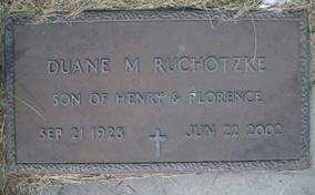 RUCHOTZKE, DUANE M. - Cedar County, Iowa | DUANE M. RUCHOTZKE
