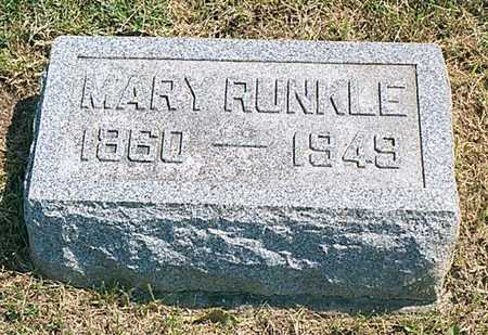 DECKER RUNKLE, MARY - Cedar County, Iowa | MARY DECKER RUNKLE