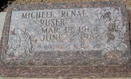 RUSER, MICHELE RENAE - Cedar County, Iowa | MICHELE RENAE RUSER