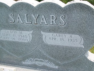 SALYARS, LADON M. - Cedar County, Iowa | LADON M. SALYARS