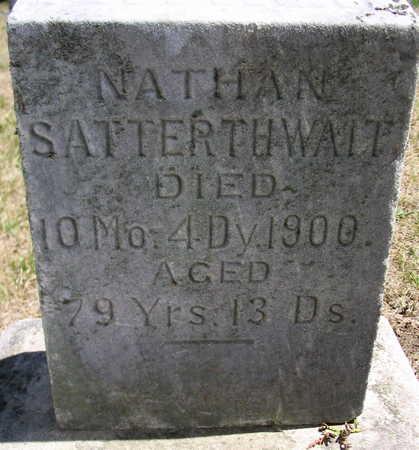 SATTERTHWAIT, NATHAN - Cedar County, Iowa | NATHAN SATTERTHWAIT