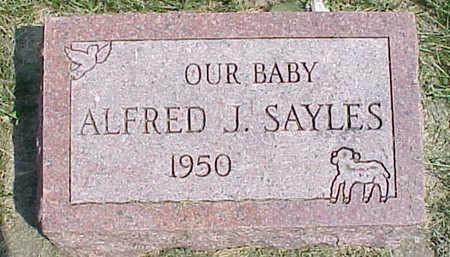 SAYLES, ALFRED J. - Cedar County, Iowa | ALFRED J. SAYLES