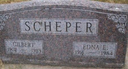 SCHEPER, GILBERT - Cedar County, Iowa | GILBERT SCHEPER