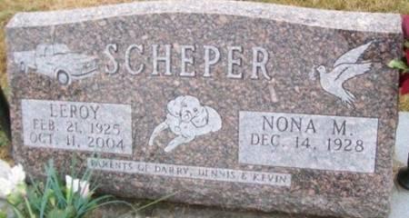 SCHEPER, LEROY - Cedar County, Iowa | LEROY SCHEPER