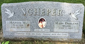 SCHEPER, MARVIN WILLIAM, SR. - Cedar County, Iowa | MARVIN WILLIAM, SR. SCHEPER