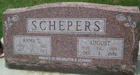 SCHEPERS, AUGUST - Cedar County, Iowa | AUGUST SCHEPERS