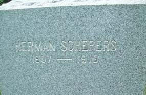 SCHEPERS, HERMAN - Cedar County, Iowa | HERMAN SCHEPERS