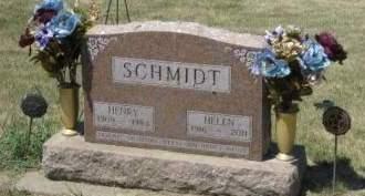 SIECK SCHMIDT, HELEN - Cedar County, Iowa | HELEN SIECK SCHMIDT