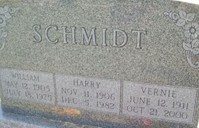 SCHMIDT, WILLIAM - Cedar County, Iowa | WILLIAM SCHMIDT