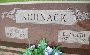 COOK SCHNACK, ELIZABETH - Cedar County, Iowa | ELIZABETH COOK SCHNACK