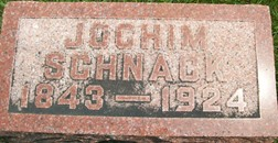 SCHNACK, JOCHIM - Cedar County, Iowa | JOCHIM SCHNACK