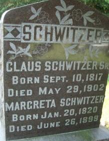 SCHWITZER, CLAUS, SR. - Cedar County, Iowa | CLAUS, SR. SCHWITZER