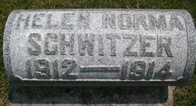 SCHWITZER, HELEN NORMA - Cedar County, Iowa | HELEN NORMA SCHWITZER