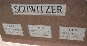 SCHWITZER, LOUIS - Cedar County, Iowa | LOUIS SCHWITZER