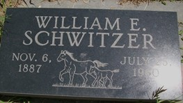 SCHWITZER, WILLIAM EDWARD - Cedar County, Iowa | WILLIAM EDWARD SCHWITZER