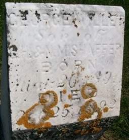 SHAFFER, GEORGE WILLET - Cedar County, Iowa   GEORGE WILLET SHAFFER