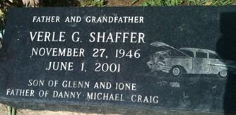 SHAFFER, VERLE G. - Cedar County, Iowa | VERLE G. SHAFFER