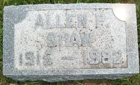 SHAW, ALLEN PAUL - Cedar County, Iowa | ALLEN PAUL SHAW