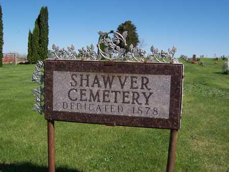 SHAWVER, CEMETERY - Cedar County, Iowa | CEMETERY SHAWVER