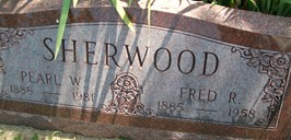 SHERWOOD, PEARL W. - Cedar County, Iowa | PEARL W. SHERWOOD