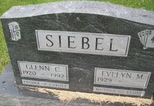 SIEBEL, EVELYN M. - Cedar County, Iowa | EVELYN M. SIEBEL