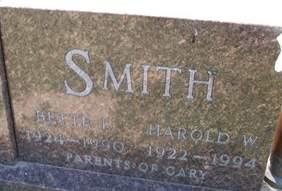 SMITH, HAROLD W. - Cedar County, Iowa | HAROLD W. SMITH
