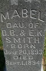 SMITH, WINNIFRED MABLE - Cedar County, Iowa   WINNIFRED MABLE SMITH