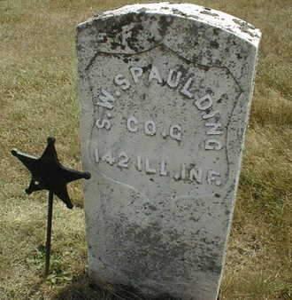 SPAULDING, S.W. - Cedar County, Iowa | S.W. SPAULDING
