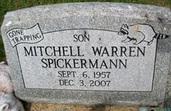 SPICKERMANN, MITCHELL WARREN - Cedar County, Iowa | MITCHELL WARREN SPICKERMANN