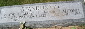 STANDUSKY, JACOB - Cedar County, Iowa | JACOB STANDUSKY