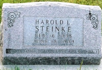 STEINKE, HAROLD L. - Cedar County, Iowa | HAROLD L. STEINKE