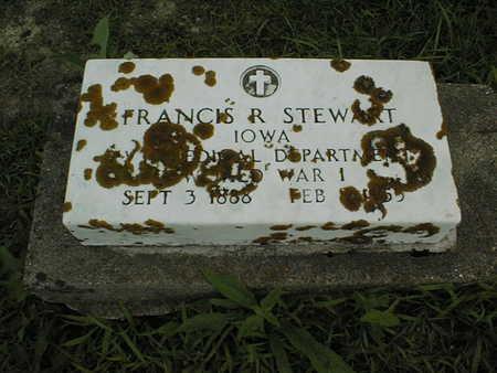 STEWART, FRANCIS R. - Cedar County, Iowa | FRANCIS R. STEWART