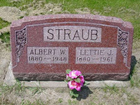 STRAUB, LETTIE JANE - Cedar County, Iowa | LETTIE JANE STRAUB