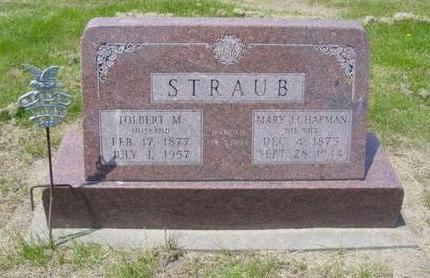 STRAUB, MARY J. - Cedar County, Iowa | MARY J. STRAUB