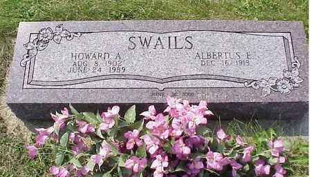 SWAILS, ALBERTUS ELIZABETH - Cedar County, Iowa | ALBERTUS ELIZABETH SWAILS