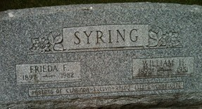 SYRING, WILLIAM H. - Cedar County, Iowa | WILLIAM H. SYRING