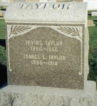 TAYLOR, IRVING - Cedar County, Iowa | IRVING TAYLOR