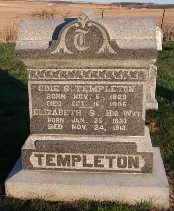TEMPLETON, EDIE S. - Cedar County, Iowa | EDIE S. TEMPLETON