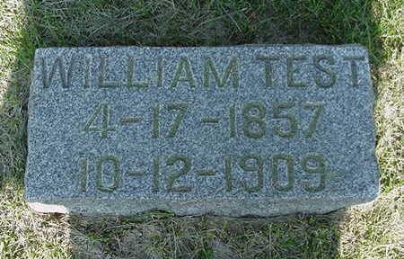 TEST, WILLIAM - Cedar County, Iowa | WILLIAM TEST