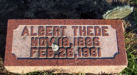 THEDE, ALBERT - Cedar County, Iowa   ALBERT THEDE