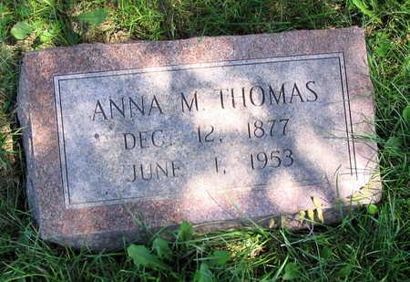 THOMAS, ANNA M. - Cedar County, Iowa | ANNA M. THOMAS