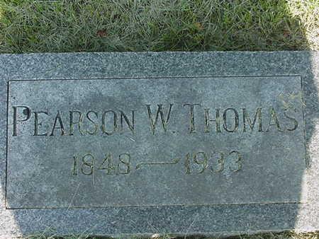 THOMAS, PEARSON W. - Cedar County, Iowa   PEARSON W. THOMAS