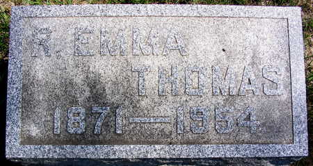 THOMAS, R. EMMA - Cedar County, Iowa | R. EMMA THOMAS