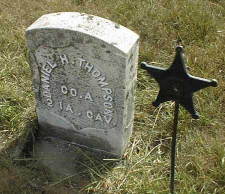 THOMPSON, DANIEL H. - Cedar County, Iowa | DANIEL H. THOMPSON