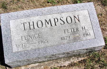 THOMPSON, PETER H. - Cedar County, Iowa | PETER H. THOMPSON