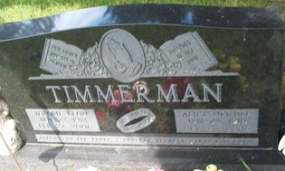 TIMMERMAN, ALICE - Cedar County, Iowa | ALICE TIMMERMAN