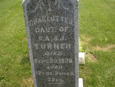 TURNER, CHARLOTTE JANE - Cedar County, Iowa | CHARLOTTE JANE TURNER