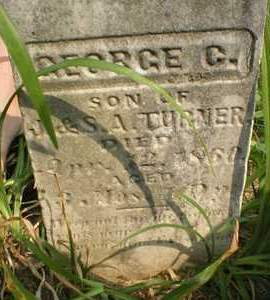 TURNER, GEORGE C. - Cedar County, Iowa | GEORGE C. TURNER